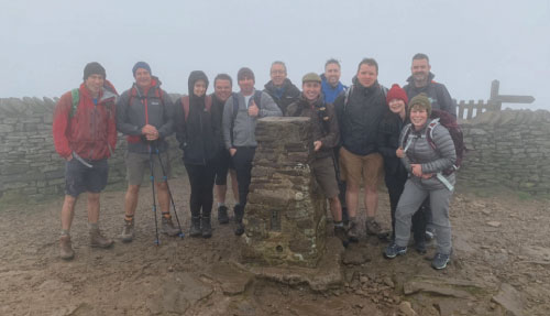 YFM team completes the Yorkshire Three Peaks Challenge