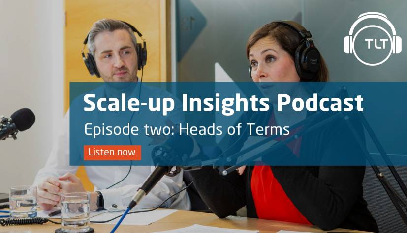 Charlie Robinson featured on TLT's Scale-Up Insights Podcast